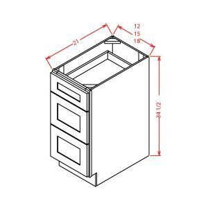 3-drawer-vanity-cabinets