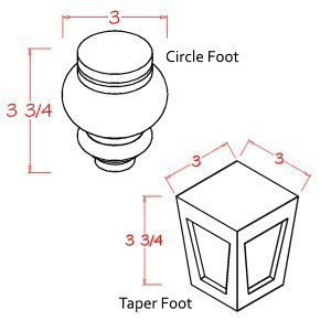 circle-taper-foot-diagram