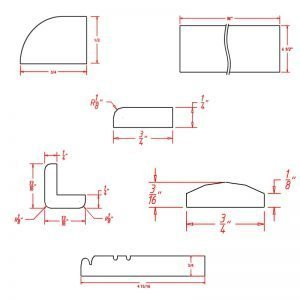 moulding-diagrams