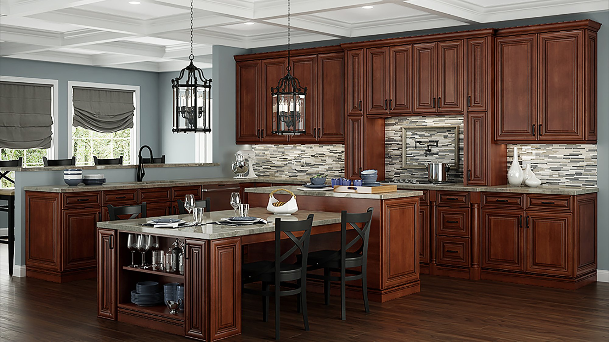 Castleberry Saddle Kitchen