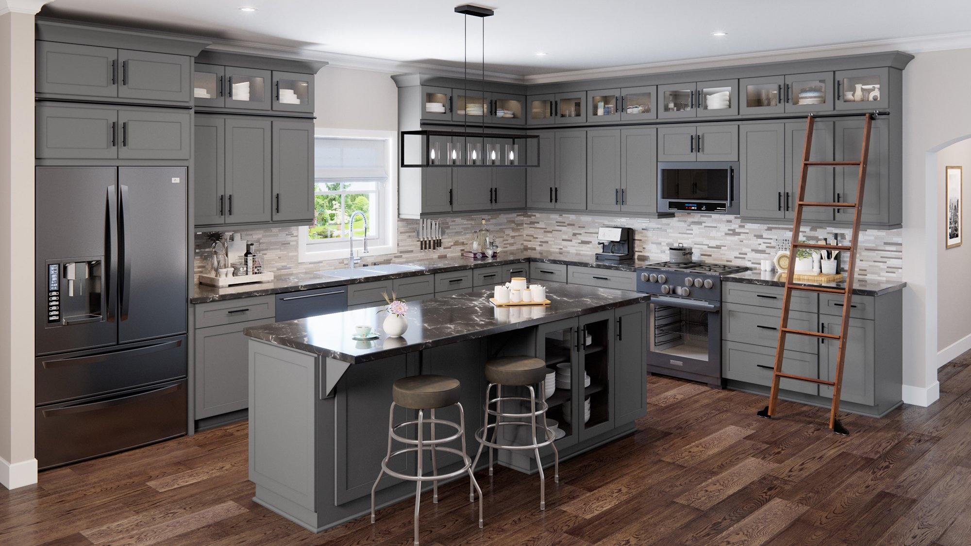 Shaker Grey Kitchen