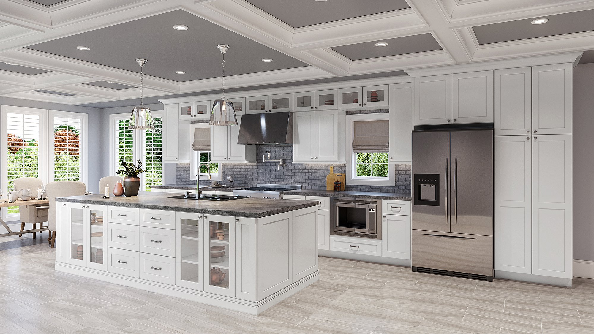 Shaker White Kitchen