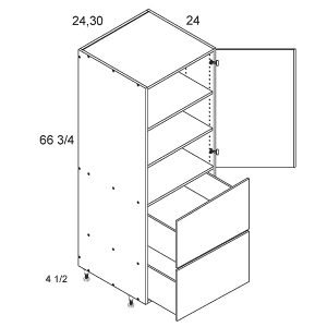 tall-1-door-2-drawer-2-shelf-utility-diagram