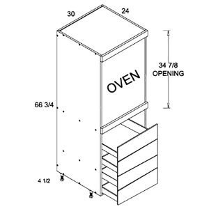 tall-1-oven-4-drawer-utility-diagram