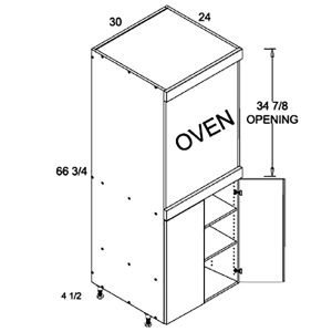 tall-single-oven-full-height-2-door-utility-diagram