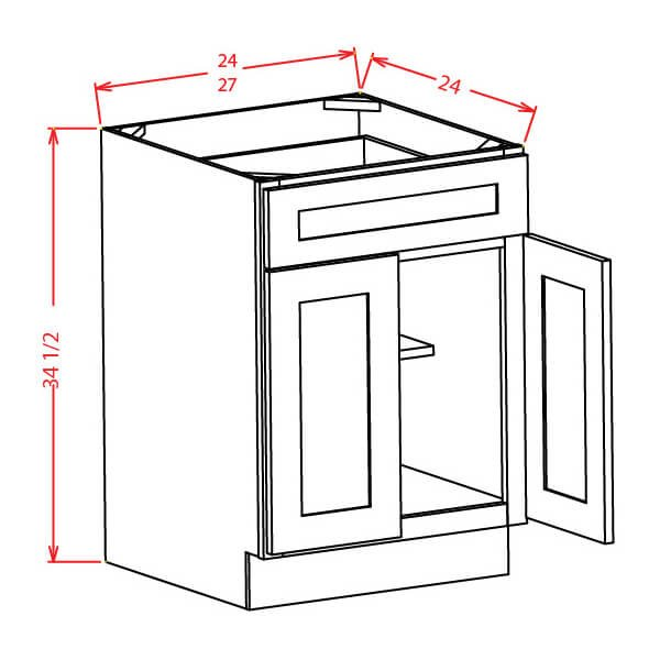 2-door-1-drawer-1-shelf-base-diagram
