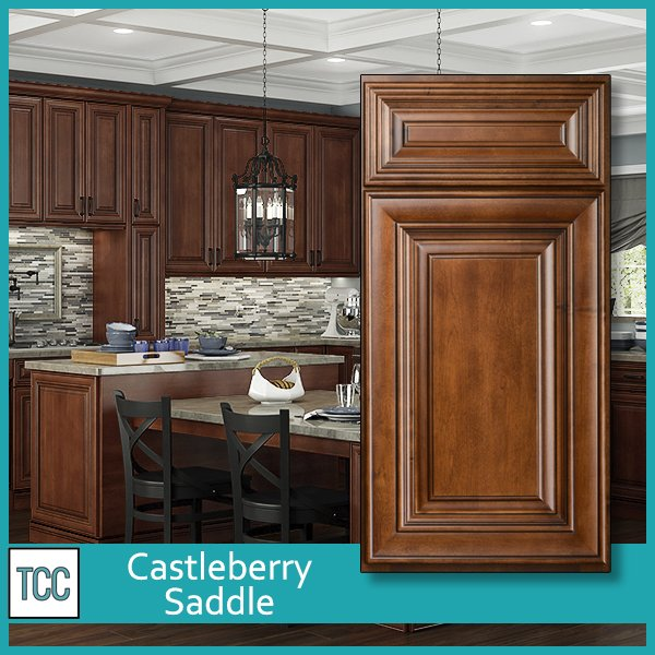 Castleberry Saddle Kitchen Cabinets